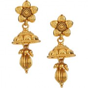 Pourni exclusive Designer copper Jhumka Earring -MGER03
