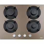 Plita incorporabila Franke Maris Free FHMF 604 4G C 106.0541.750, Gaz, 4 arzatoare, Aprindere electrica integrata, Dispozitiv de siguranta, Gratare de fonta, Latime 59 cm, Oyster
