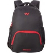 Wiki by Wildcraft Traverse 1 black Laptop Backpacks 27.174104 L Backpack(Black)