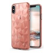 Husa Protectie Spate Ringke Prism Rose Gold pentru Apple iPhone X