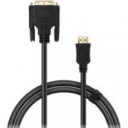 Кабел Speedlink, от DVI(м) към HDMI(м), 1.8m, черен