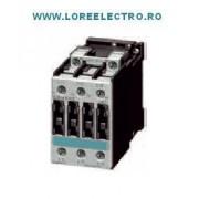3RT1025-1AB00, Contactor 17A SIEMENS, contactor 7,5 KW / 400V, SIRIUS, Tensiune Bobina 24V ac, S0