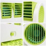XTR Mini Small Fan Cooling Portable Desktop Dual Bladeless water Air Cooler USB