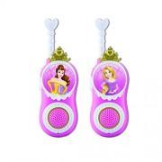 eKids Walkie Talkies Libres de Estática, duraderos, para niños, Disney Princess