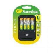 Зарядно устройство GP PB570GS270 в комплект 4бр. AA NiMH 2700mAh, 4x слота, за NiMh AA/AAA батерии + 4x 2700 mAh батерии