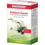 Bakanasan Knoblauch-Kapseln Plus Olive und Wei