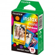 Fujifilm Instax Mini Pack Rainbow film instant