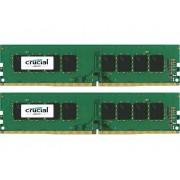 PC-werkgeheugen kit Crucial CT2K8G4DFS824A CT2K8G4DFS824A 16 GB 2 x 8 GB DDR4-RAM 2400 MHz CL 17-17-17