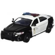 Motormax 76948 2013 Ford Police Interceptor LAPD Los Angeles Police Department Car 1-24 Diecast Car Model