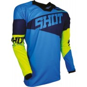 Shot Contact Infinite Jersey Azul/Amarillo XL