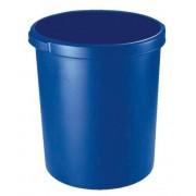 Cos de birou pentru hartii, 30 litri, HAN Grip - albastru