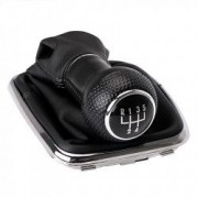 Nuca schimbator viteze + manson compatibil Volkswagen Golf 4 MK4 1997-2005 1J0 711 113 - 5 23mm Negru