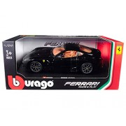 Ferrari 599 GTO Black 1/24 Diecast Model Car by Bburago