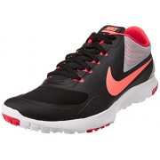 Nike Men's FS Lite Trainer II Black,Hot Lava,Wolf Grey,Daring Red Outdoor Multisport Training Shoes -7 UK/India (41 EU)(8 US)