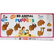 3D Animal Cardboard Puppets