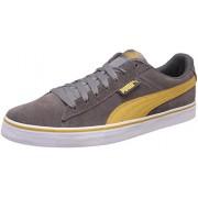 Puma Unisex Puma 1948 Vulc Steel Grey and Bright Gold Sneakers - 7 UK/India (40.5 EU)