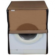 Dreamcare dustproof and waterproof washing machine cover for front load 6KG_LG_F10E3NDL2_Beige