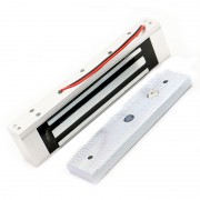 Enkele Elektrische Licht Deurslot 12 V Magnetische Elektromagnetische Lock 180 KG (350LB) Holding Force Voor Toegang Controlesysteem NAIERDI