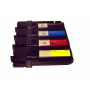 4x Toner Kartusche f. Dell 1320 , 1320c , 1320cn , 2130cn , 2135cn kompatibel