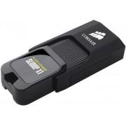 Stick USB Corsair Voyager Slider X1, 128GB, USB 3.0 (Negru)