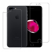 Folie Sticla Set Fata + Spate iPhone 7 Plus / iPhone 8 Plus Protectie Antisoc Tempered Glass