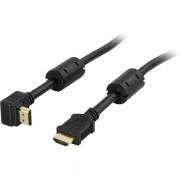 Deltaco Vinklad HDMI-kabel ( 1 meter )