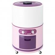 lavadora redonda acros alfc2253er 22kg rosa con blanco