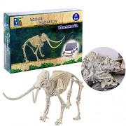 Inditake Children Educational Kit Creative Dinosaur Archaeology Excavation Toys Discovering Dinosaurs Activity Kit (Mammoth Dinosaur)