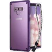 Set Samsung Galaxy Note 9 Ringke Fusion Husa Portcard Strap Violet deschis