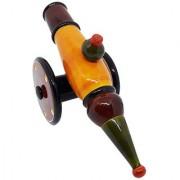 Kingini Wooden Cannon - Yellow