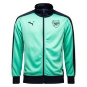 Arsenal Track Top T7 Fan - Turquoise/Navy