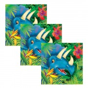 Dinosaur Party Napkins (Pack of 16)