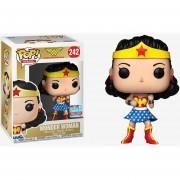Funko Pop Wonder Woman Caja Dorada NYCC 2018 Fall Convention Retro