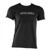 CAPITAL SPORTS férfi edző póló, XL méret, fekete (STS3-CSTM1)