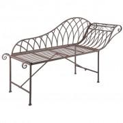 Esschert Design Chaise Longue in Metallo Stile Old English MF016