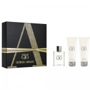 Acqua di Giò - Giorgio Armani CONFEZIONE REGALO profumo 50 ml EDT SPRAY + shower gel 75 ml + after shave 75 ml