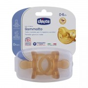 Chicco Gommotto Physio 0-6 mesi Caucciù -2 pz
