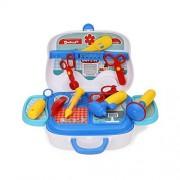 Tabu Toys World DOCTOR SET Doctor Nurse family oprated Set Medical SuitcaseToy For Kids