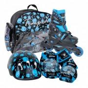 Tempish UFO Baby Skate Set zwart/blauw maat 30/33