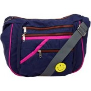 JG Shoppe ABCOS1026 Blue Sling Bag