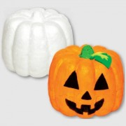 Baker Ross Polystyrene Pumpkins - 6 Polystyrene Pumpkins to paint and decorate. Size 6.5cm.