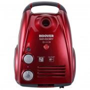Hoover Sn70_sn75011 Aspirapolvere A Traino Con Sacco 700 Watt Classe A Colore Ro