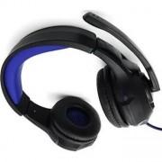 Casti cu Microfon Media-Tech Cobra Pro THRILL pentru Gaming, Stereo, Control Volum, Difuzoare 40mm, Iluminare, Jack si USB, Negru