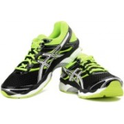 Asics Gel-Cumulus 16 Men Running Shoes For Men(Black, Green)