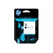 HP Cabezal de Impresión Original HP 11 negro C4810A para Business Inkjet 1000, 1200, 2800, DesignJet 11X, 500, 510, 70, 820, Officejet Pro K850