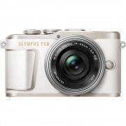 Olympus PEN E-PL9 Body with 14-42mm EZ Lens Mirroless Digital Cameras - White