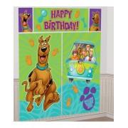 Scooby-Doo Födelsedag Scene Setter 165 cm x 190 cm