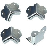 Futaba Stainless Steel Sound Clang Corner protection - Pack of 4