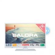 Salora 24HDW5015 HD Ready LED tv met ingebouwde DVD speler