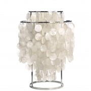 Verner Panton tafellamp Shell style lamp parelmoer